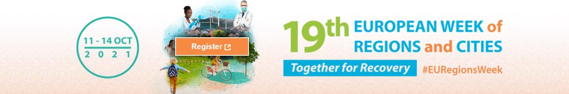 Abriram as inscrições para a 19ª edição da Semana Europeia das Regiões e Cidades
